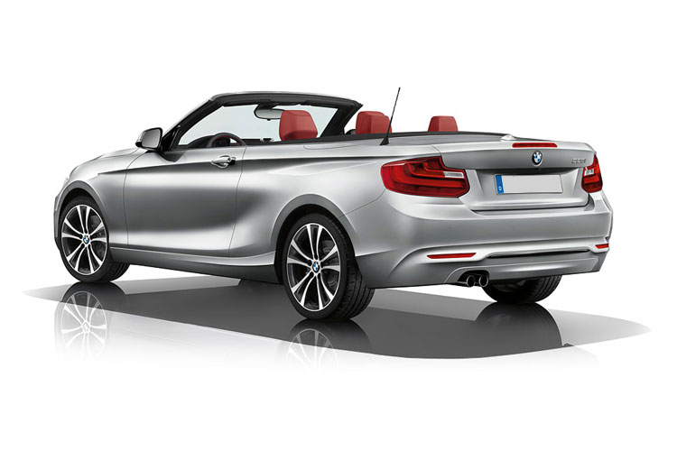 BMW 2 Series 218 Convertible 2.0 i 136PS SE 2Dr Auto [Start Stop] back view