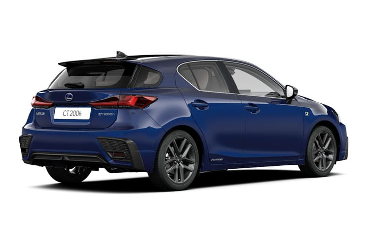 Lexus CT 200h Hatch 5Dr 1.8 h 136PS F-Sport 5Dr E-CVT [Start Stop] [Convenience Tech] back view