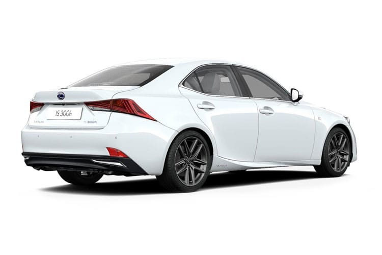 Lexus IS 300 Saloon 2.5 h 223PS IS 4Dr E-CVT [Start Stop] [Comfort] back view