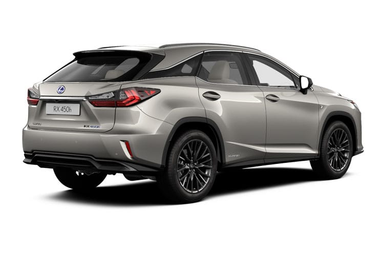 Lexus RX 450h SUV 4wd 3.5 h V6 313PS F-Sport 5Dr E-CVT [Start Stop] back view