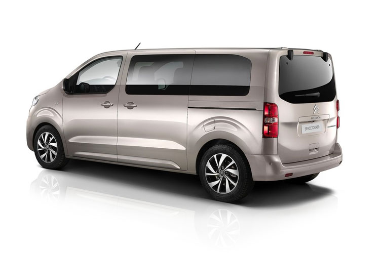 Citroen SpaceTourer e-SpaceTourer M 5Dr Elec 50kWh 100KW FWD 136PS Business MPV Auto [8Seat 11kW Charger] back view