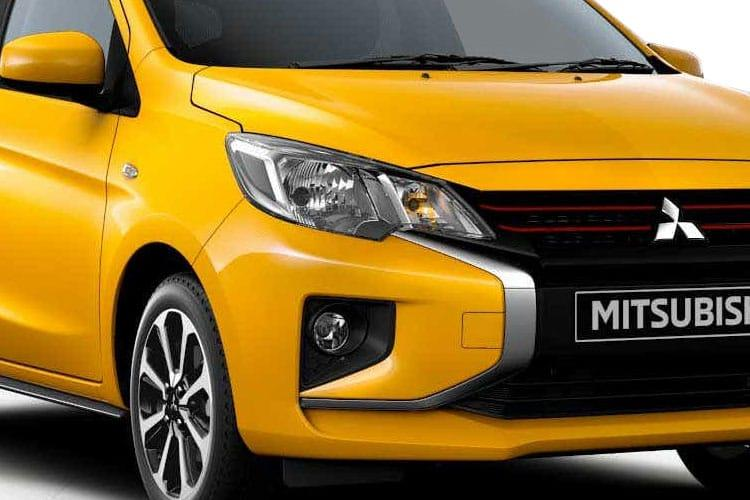 Mitsubishi Mirage Hatch 5Dr 1.2  79PS Verve 5Dr Manual [Start Stop] detail view