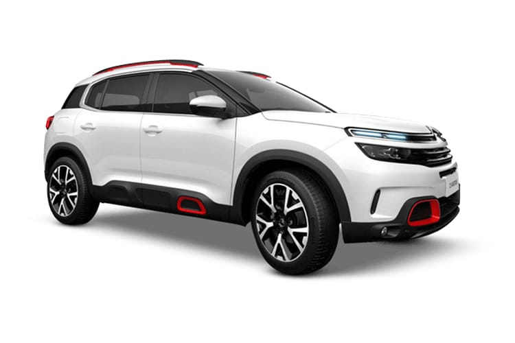 Citroen C5 Aircross SUV 1.5 BlueHDi 130PS Shine Plus 5Dr Manual [Start Stop] front view