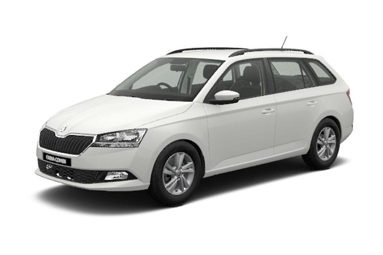 Skoda Fabia Estate 1.0 TSi 95PS SE Drive 5Dr Manual [Start Stop] front view