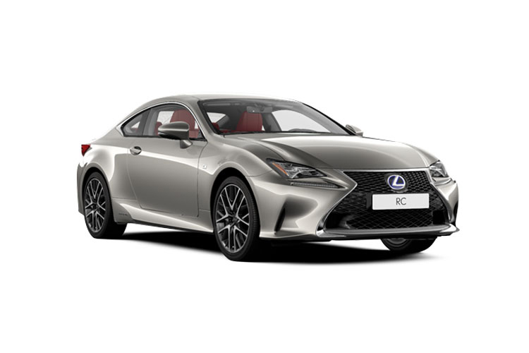 Lexus RC F Coupe 5.0 V8 463PS  2Dr Auto [Track SRoof] front view