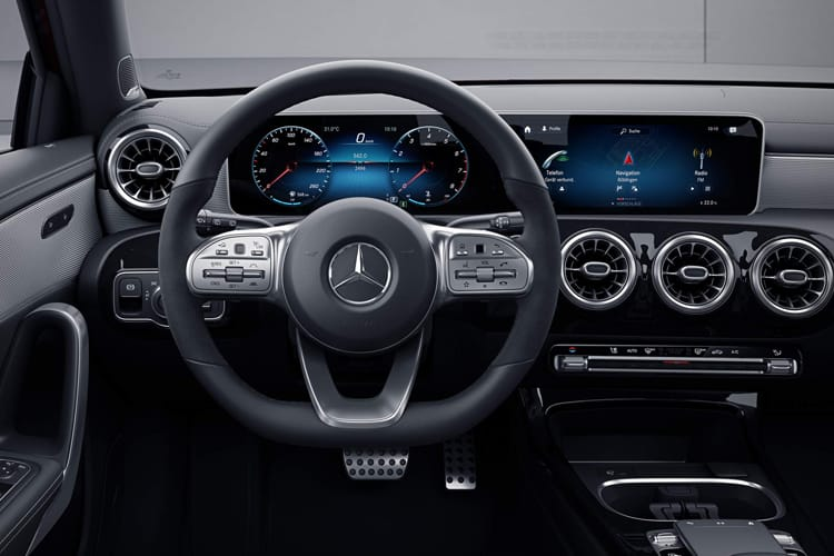 Mercedes-Benz A Class A180 Saloon 4Dr 1.5 d 116PS Sport Executive 4Dr 7G-DCT [Start Stop] inside view