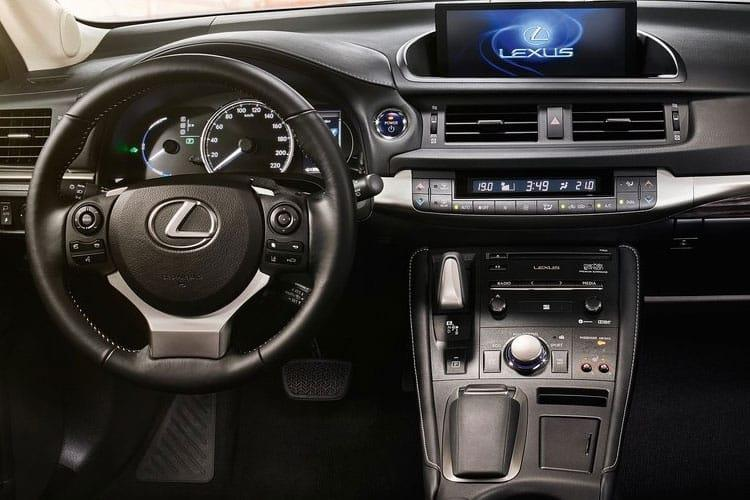 Lexus CT 200h Hatch 5Dr 1.8 h 136PS F-Sport 5Dr E-CVT [Start Stop] [Convenience Tech] inside view