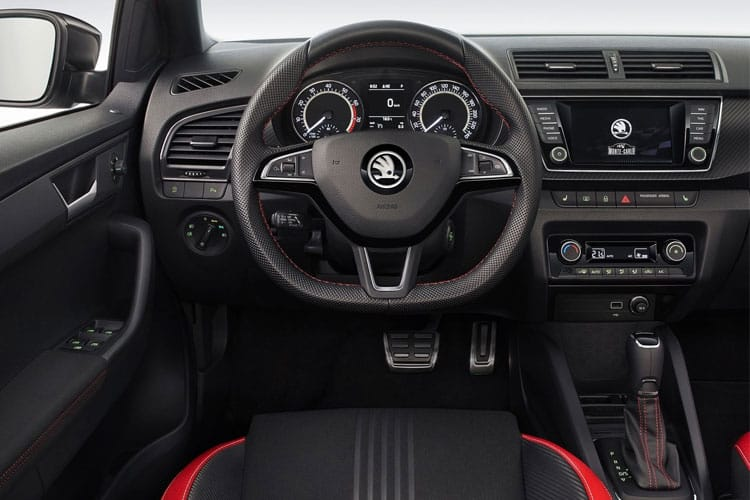 Skoda Fabia Hatch 5Dr 1.0 TSi 95PS SE Drive 5Dr Manual [Start Stop] inside view