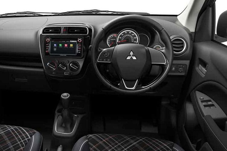 Mitsubishi Mirage Hatch 5Dr 1.2  79PS Verve 5Dr Manual [Start Stop] inside view