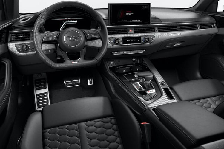 Audi A4 35 Avant 5Dr 2.0 TDI 163PS Black Edition 5Dr S Tronic [Start Stop] inside view